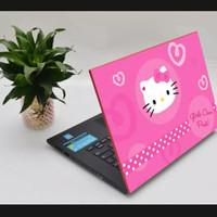 Meeratech Garskin stiker skin pelindung laptop hello kitty series