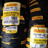 Ban sepasang Pirelli Diablo Rosso Scooter 110/70-12 &120/70 ring 12