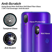 Infinix Hot 9 Play Tempered Glass Anti Gores Pelindung Kamera Lensa