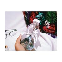 Photo Jar Bohlam/ foto hias/ Botol lampu plastik/ Glitter/ kado ultah
