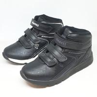 Sepatu boots anak sekolah Finotti Jupiter 02 - size 31-36 - 100% origi