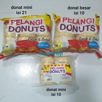 PELANGI DONAT KENTANG ORIGINAL / COKLAT - MINI ISI 10