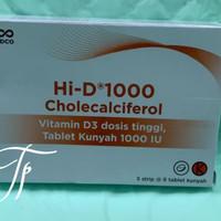 Vitamin D3 Hi D 1000iu