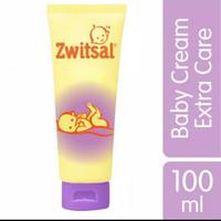 Zwitsal Baby Cream Extra Care Zinc 100ml Ruam Popok