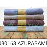 Handuk Terry Palmer Motif Bamboo Azura Cotton 70x135 cm