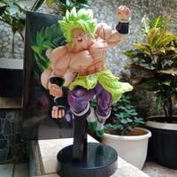 Action Figure Dragon Ball Broly Super Saiyan Green