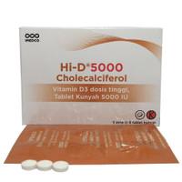 hi d 5000 vitamin