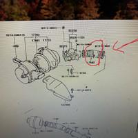 Selang hawa Crown-selang filter udara Crown GS131 original