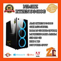 Pc Gaming/Editing Amd Ryzen 5 3400G GTX1650SUPER 16GB 120GB 1TB - 16 gb