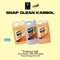 Snap Clean Karbol 4 Liter / Pembersih Termurah Sereh / Cemara