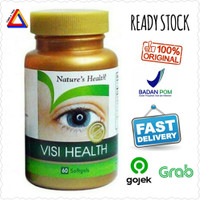 Natures Nature's Health Visi Health 60 Sofgels Vitamin Mata