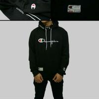 Jaket supreme Champion hitam premium/jaket pria murah