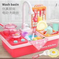 Mainan Kitchen Kompor Tempat Cuci - Mainan Anak Wastafel Sink