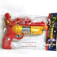 Mainan Pistol Superhero Lampu Suara - Mainan Tembak tembakan
