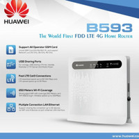 Huawei home router B593 - 4G LTE