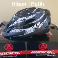 Helm Sepeda Pasific Original Pelindung Kepala Lampu Laris Murah