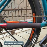 Pelindung rantai sepeda - chain protector - pelindung frame sepeda