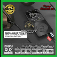 MP3 RUIZU X02 Digital Audio MP4 Video Player High Quality Lossless SQ