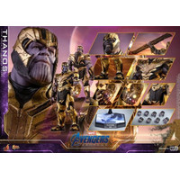 Sixth scale Hot toys Thanos avengers end game NEW MISB marvel figure