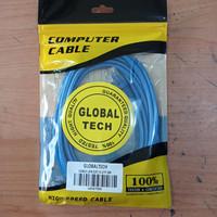 Kabel LAN UTP 3M RJ45 Cat 5 3meter Terpasang Cable Konektor Cat5