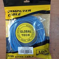Kabel LAN UTP 15M RJ45 Cat 5 15meter Terpasang Cable Konektor Cat5