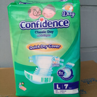 Confidence Classic Day Popok Perekat Dewasa L7