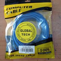 Kabel LAN UTP 10M RJ45 Cat 5 10meter Terpasang Cable Konektor Cat5