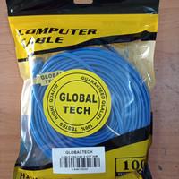 Kabel LAN UTP 30M RJ45 Cat 5 30meter Terpasang Cable Konektor Cat5