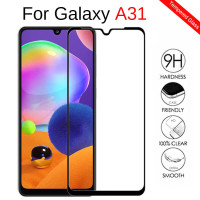 TEMPERGLASS TEMPERED GLASS FULL COVER LEM SAMSUNG GALAXY A31 M21 M31
