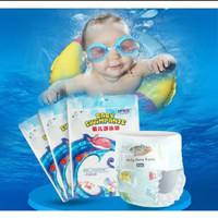 BK132 Popok Renang Bayi Diaper Baby Swim Sekali Pakai | Harga 1 Pc