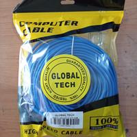 Kabel LAN UTP 20M RJ45 Cat 5 20meter Terpasang Cable Konektor Cat5