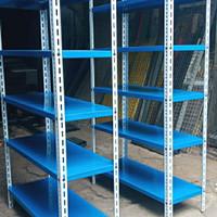 Rak gudang UK 120x30x200 - Putih
