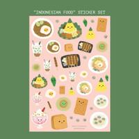 Moon Pancake Indonesian Food Sticker