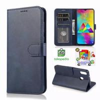 Leather Flip Cover xiaomi Note Bambu Wallet Case Kulit -Casing Dompet