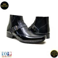 Boots formal pria bahan kulit asli boots premium PRB 05