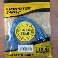 Kabel LAN UTP 5M RJ45 Cat 5 5meter Terpasang Cable Konektor Cat5
