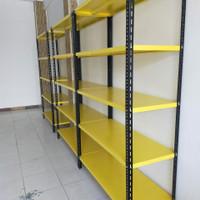 Rak Gudang 100x30x200 cm - Kuning