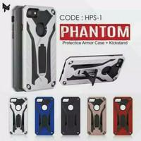 Vivo Y81/Y83 hard case phantom iron kick stand