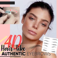 HN - 4D Waterproof Tattoo Sticker Eyebrow Natural /Tato Alis Temporary