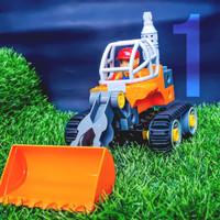 Mainan lego transportasi dawter kendaraan konstruksi 4 in 1 education