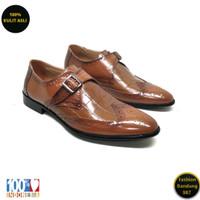 Sepatu formal pria lancip bahan kulit asli /Oxford/premium KS 005
