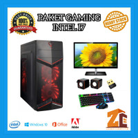 Paket Pc Gaming/Editing Intel Core I7 2600|GT1030|8GB|120GB|1TB