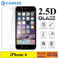 TEMPERED GLASS IPHONE 6 / 6S CLEAR ANTI GORES KACA BENING 9H IPHONE 6
