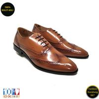 Sepatu formal pria tali lancip bahan kulit asli /Oxford/premium KS 02
