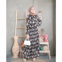 Sexani Dress by Oclo Dress GAMIS Muslim Wanita Cewek Hijab Terbaru