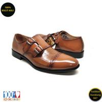 Sepatu formal pria lancip bahan kulit asli /Oxford/premium KS 01