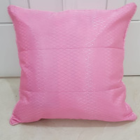 sarung bantal sofa satin polos super sale 40x40