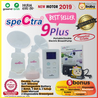 Breast Pump Spectra 9+ plus Pompa Asi Original Garansi Resmi Indonesia