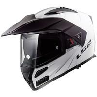 LS2 FF324 METRO EVO GLOSS WHITE | HELM MOTOR MODULAR | L - 3XL