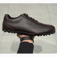 SEPATU GOLF MIZUNO BROWN MEN GQ19905